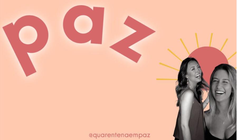 Quarentena em Paz | Imagem: instagram @quarentenaempaz | https://www.instagram.com/p/CCcGDzOhq1a/