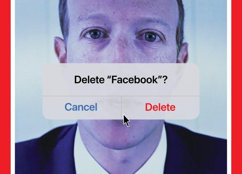 TIME Magazine: capa sobre deletar Facebook